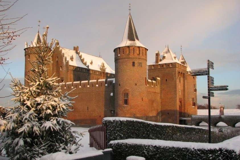 Winter in Muiderslot